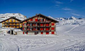 bien immobilier sur les pistes de ski