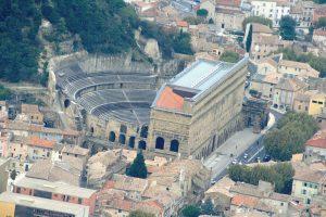 vue du théâtre antique d'Orange